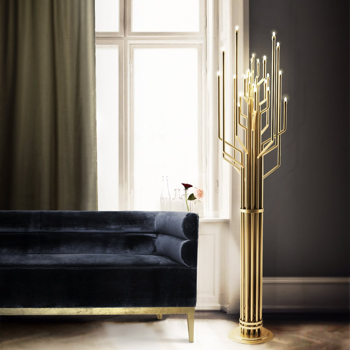 Janis Floor Lamp by DelightFULL