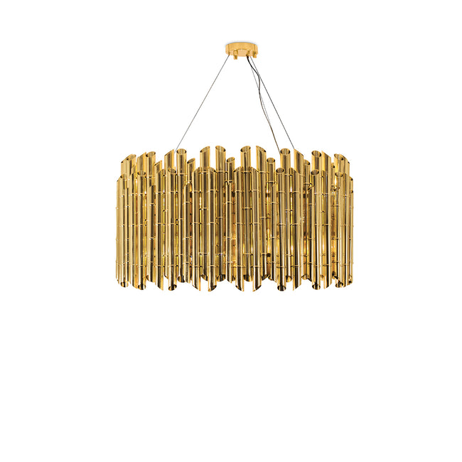 Saki Suspension Lamp by Brabbu