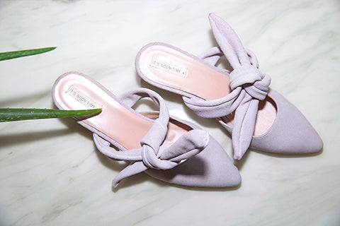 Twilight Heeled Mules