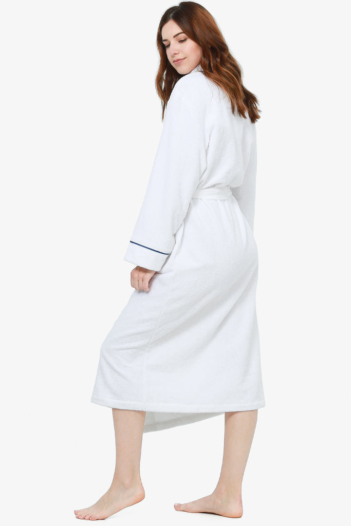 JNY - The Perfect Spa Robe (White) - CozyAndCurious