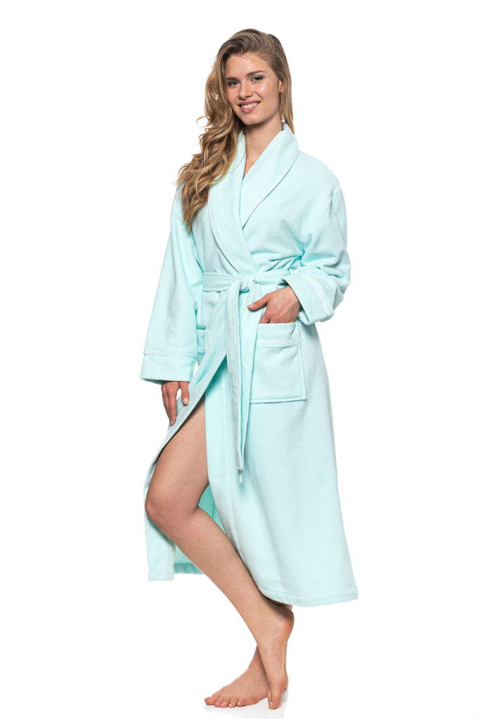 Copy of JNY - The Perfect Spa Robe (Aqua)