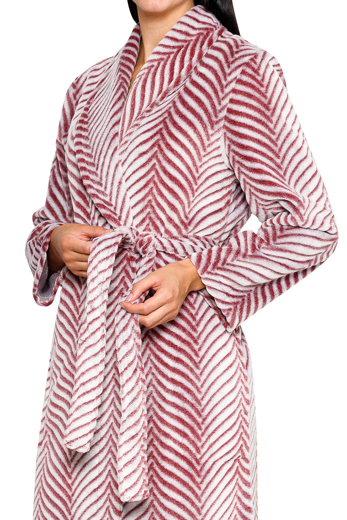 ROYAL PLUSH SHAWL COLLAR ROBE