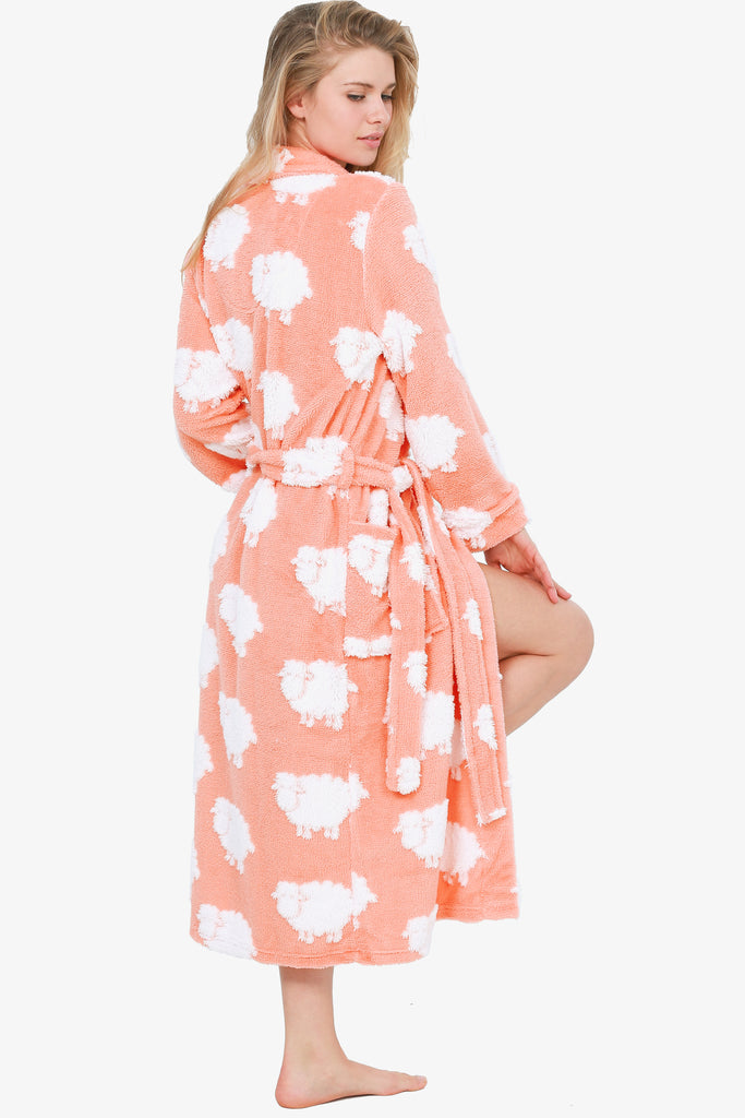 The Cozy Sheep Robe (Peach)