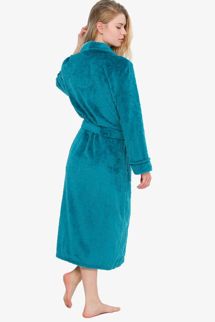 The Chic Teal Robe (Blue)