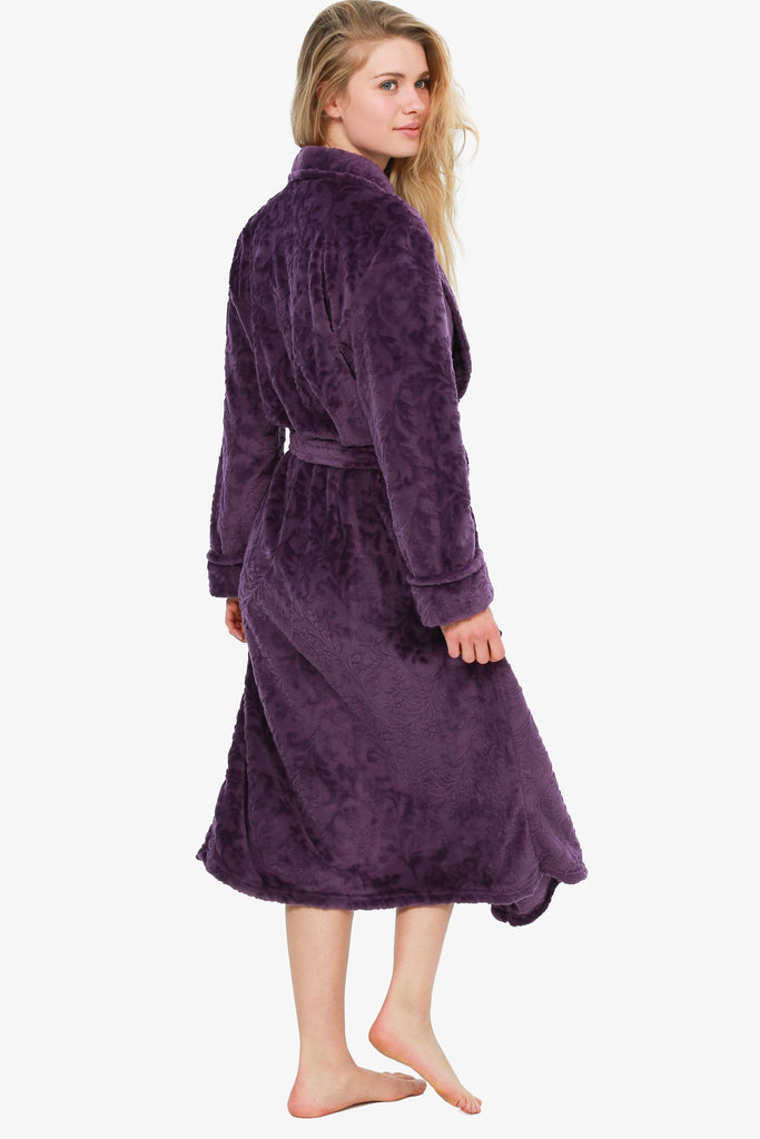 The Chic Grape Robe (Purple)