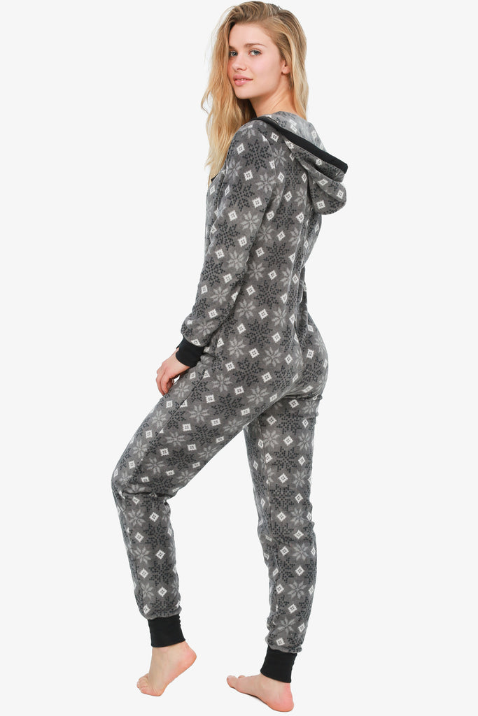 Ultimate Snowflake Onesie (Grey) Only-Large