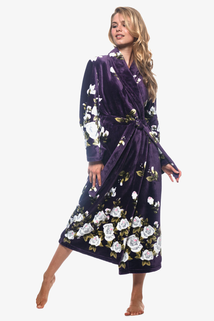 The Purple Gardenia Robe (Purple)