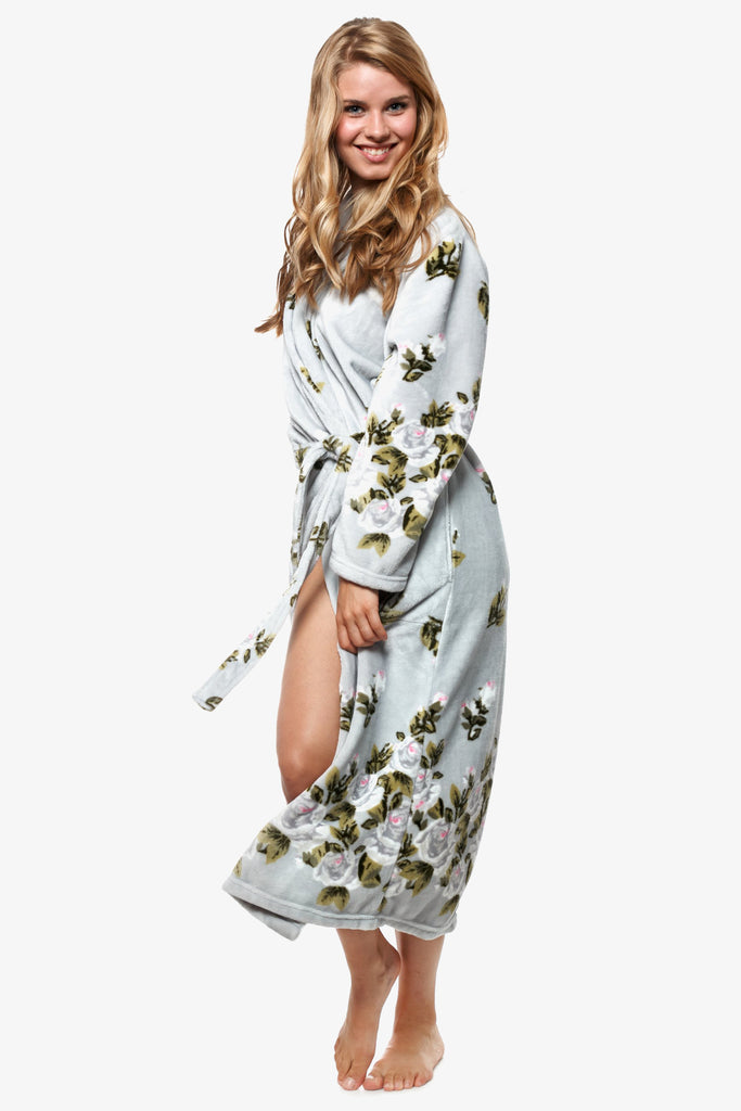 The Grey Gardenia Robe (Grey)