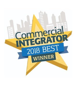 Commercial Integrator BEST Award in the Audio Distribution Systems Category for CloviFi, a dedicated wireless device for transmitting TV audio to smart devices