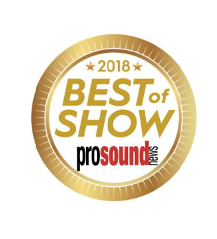CloviTek WiFi Audio transmitter Best of Show Award winner at InfoComm 2018