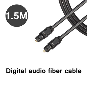 TOSLink 5ft (1.5m) Optical Digital Audio Cable SPDIF Dolby Digital DTS