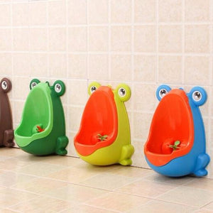 Boys Frog Vertical Training Urinal