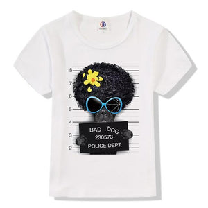 Boys Bad Dog  Short Sleeve T shirt