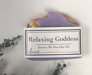 Relaxing Goddess Soap Bar by Lavare'