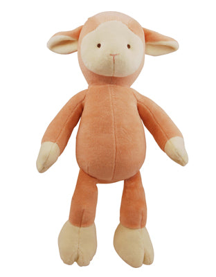 Natural pet toy lamb