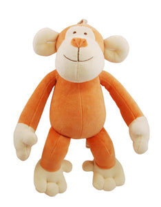 Natural pet toy monkey