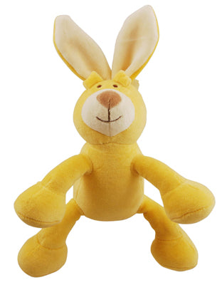 Natural pet toy bunny
