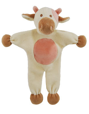 Natural pet toy cow