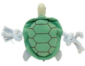 Natural pet toy turtle
