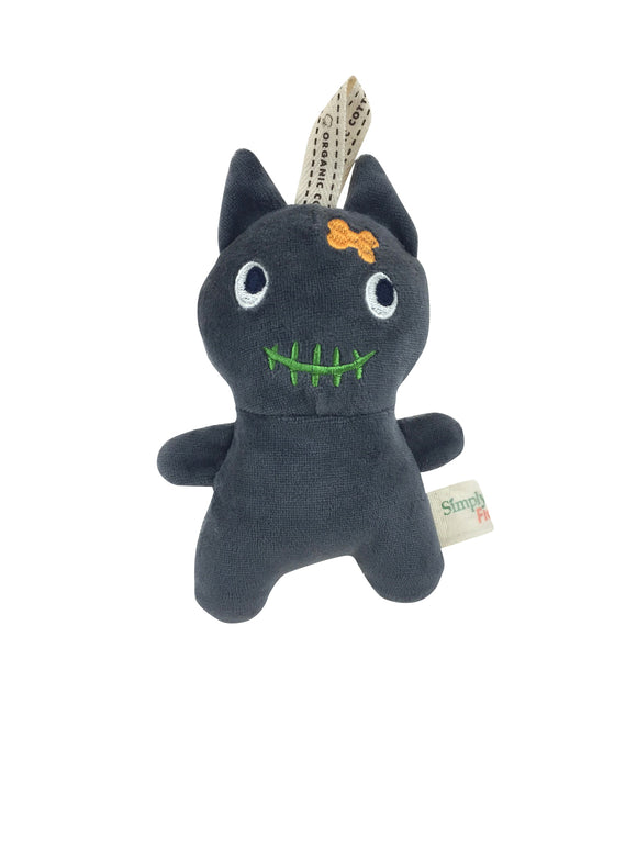 Natural pet toy halloween cat
