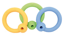 Natural Rubber Ring with Treat holder (3 colors)