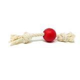 Natural Rubber Ball Rope toy
