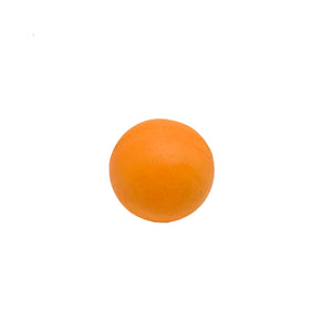 Natural Rubber Soft Orange Tennis Ball (2 sizes)