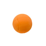 Natural rubber tennis ball