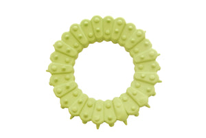 Natural rubber toy ring