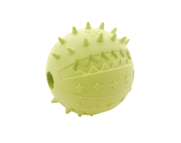 Natural rubber ball toy