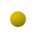 Natural rubber tennis balls