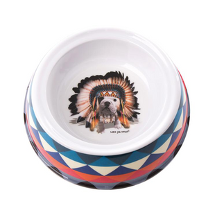 Teo Jasmin Apache Dog Bowl