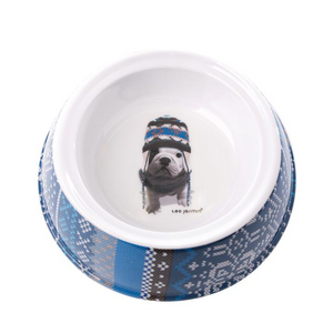 Teo Jasmin Hipster Dog Bowl