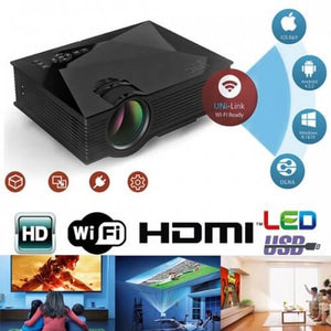 hd mini projector smallest high quality can connect to iphone