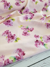 Lilac Blossoms on Peach {by the half yard}