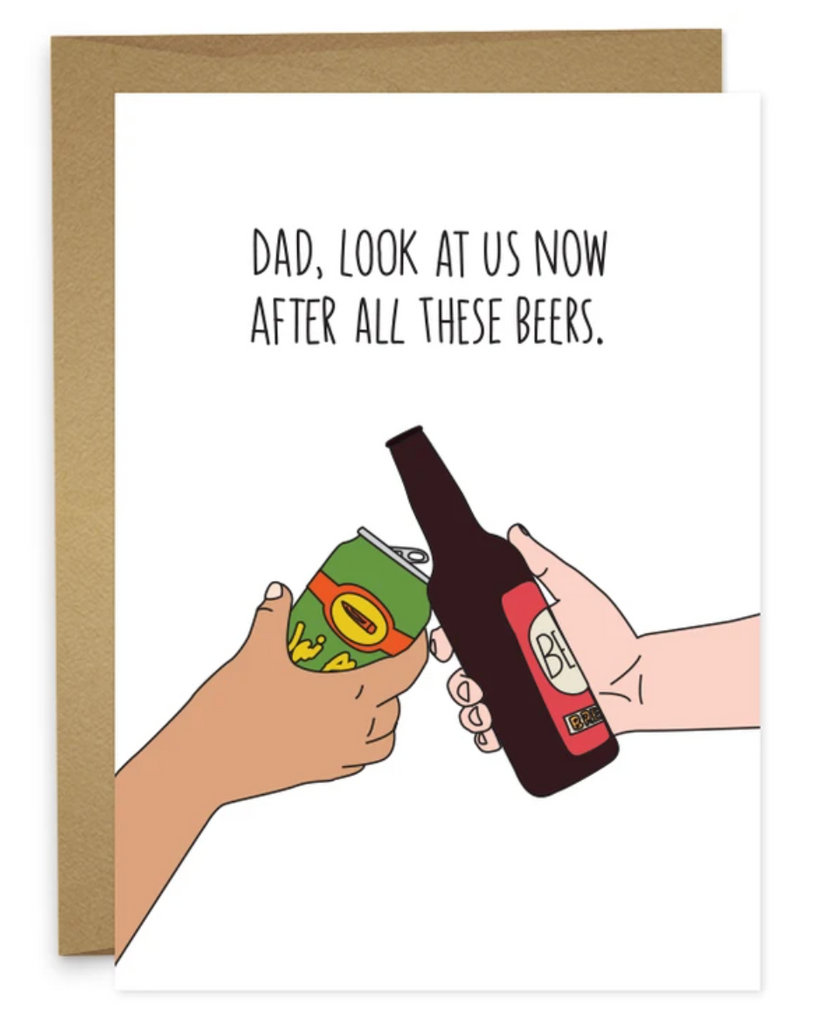 Humdrum Paper Dad Card