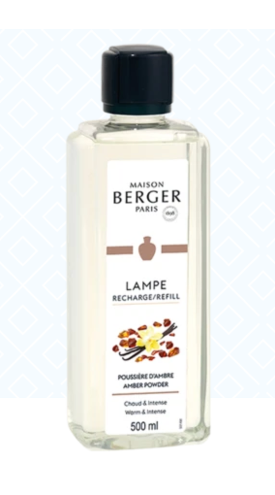 Maison Berger Amber Powder Fragrance Alcohol
