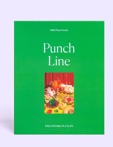 Piecework Punch Line Puzzle