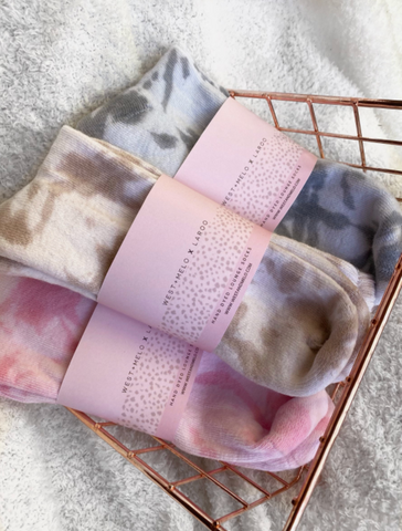 West & Melo Hand Dyed Lounge Socks