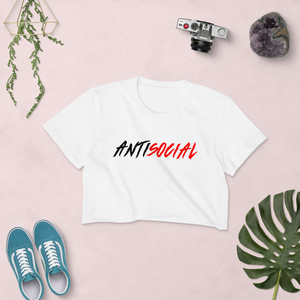 AntiSocial Crop Top