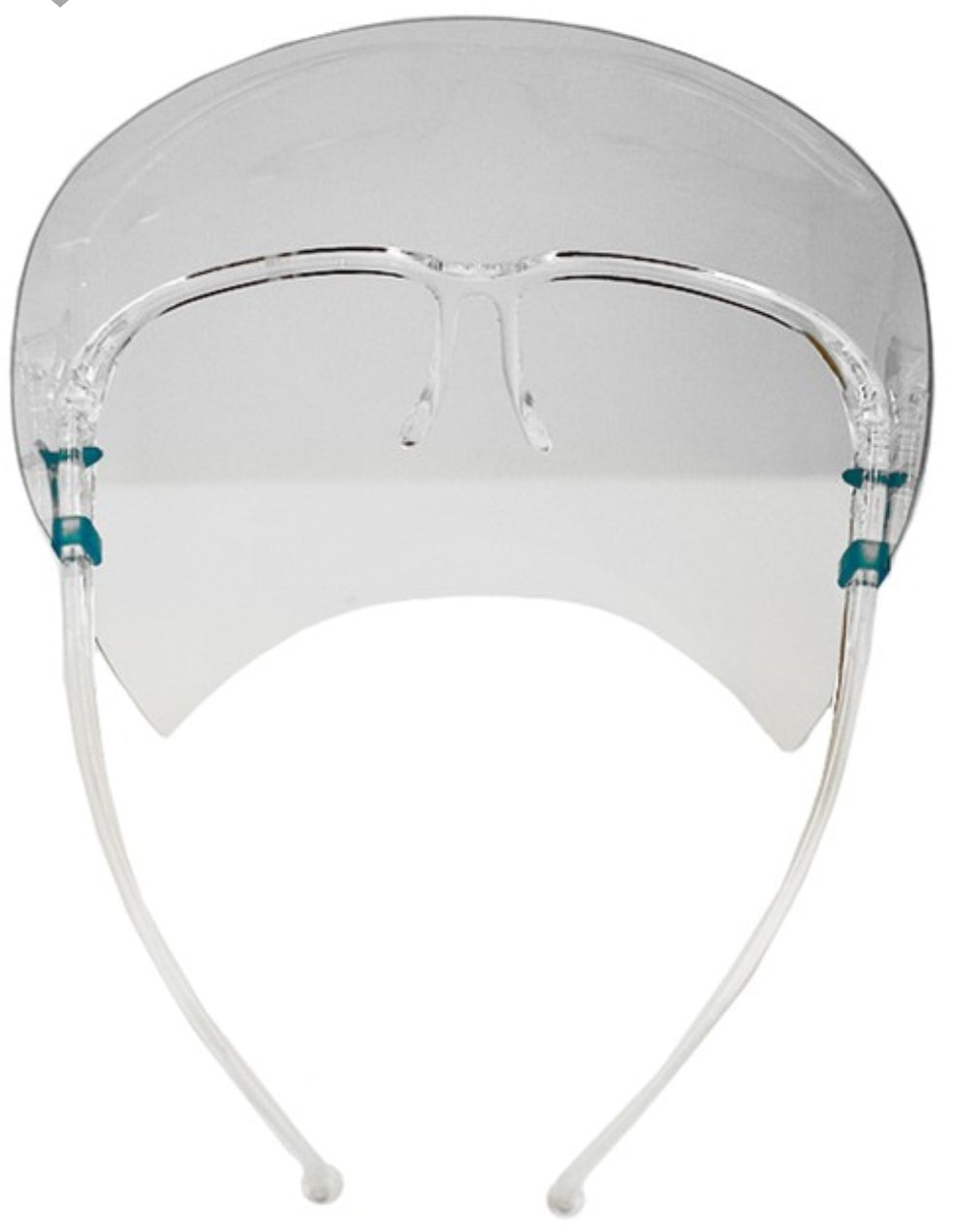 Double-Sided Face Shield Protector Clear Face Mask