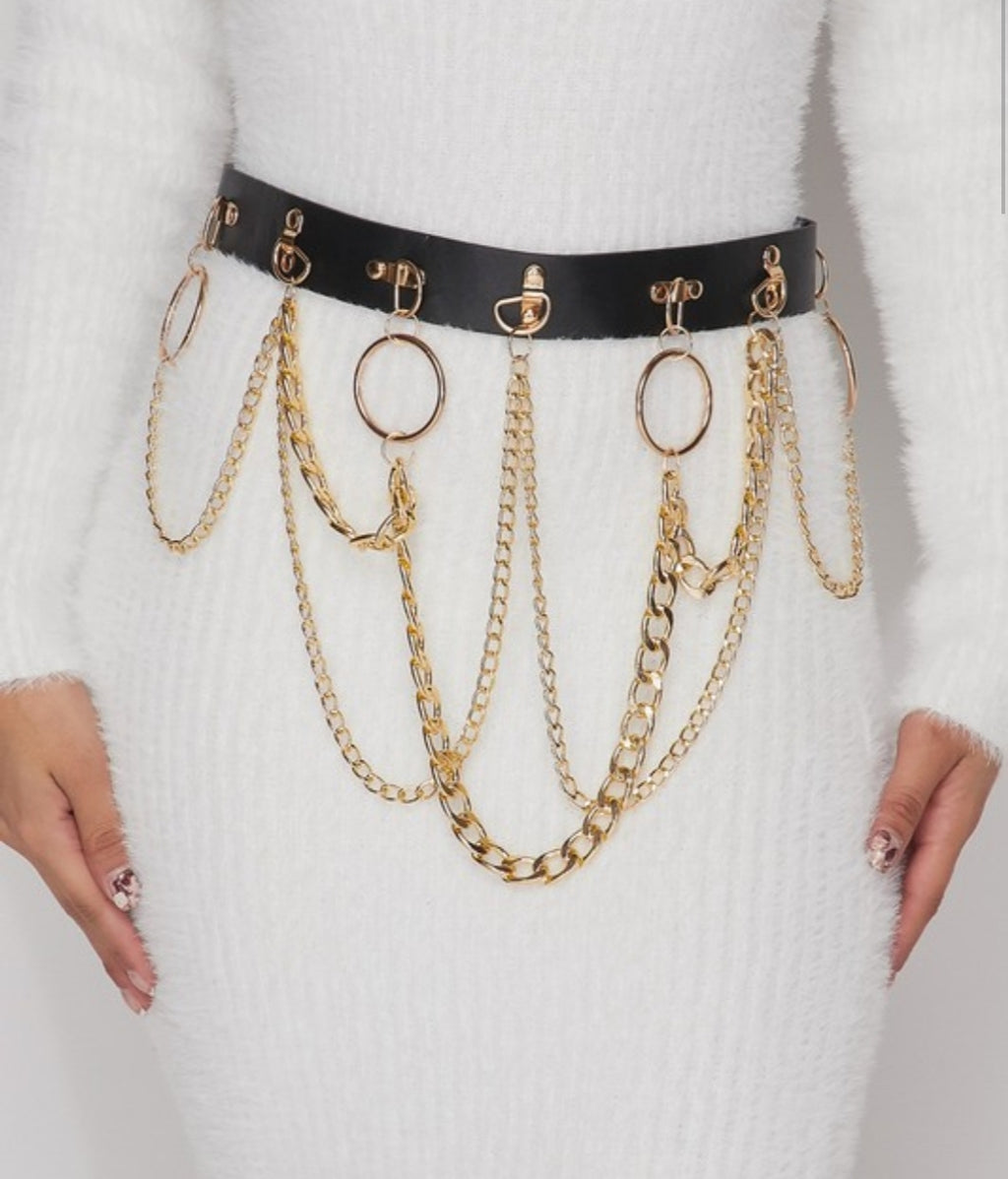 Miss Petty's Chained Up Belt