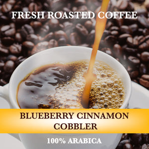 Blueberry Cinnamon Cobbler