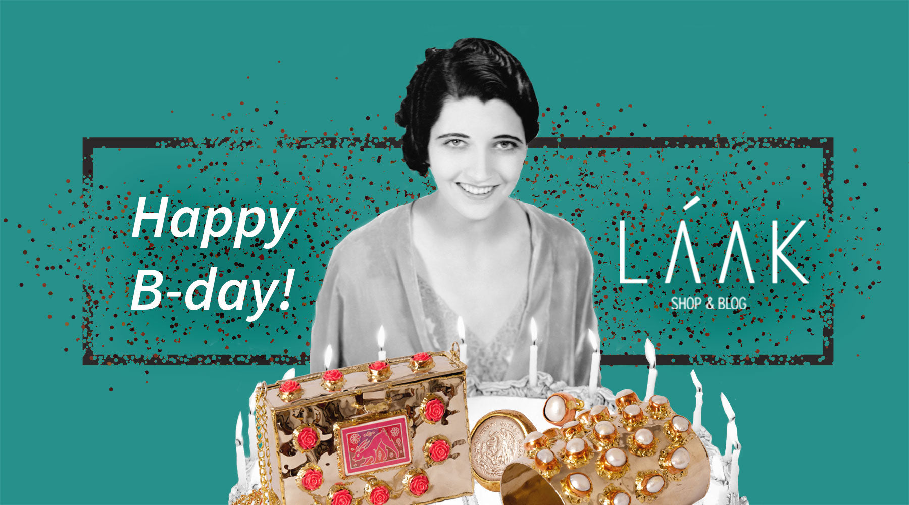 Happy birthday LÁAKshop&blog!!
