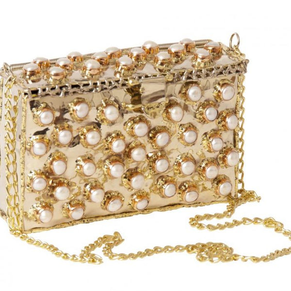 JEWEL BAG PEARL