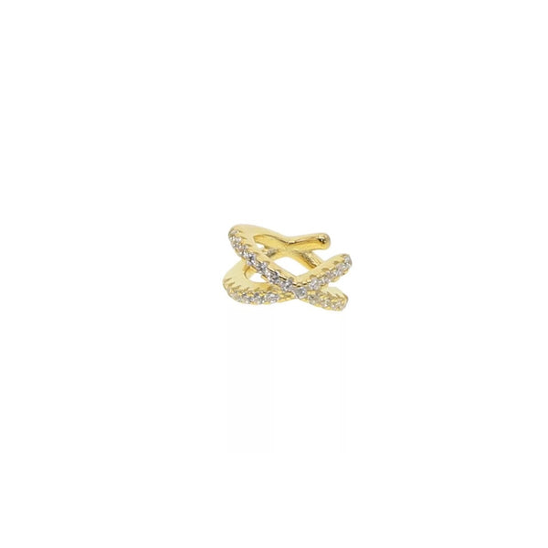 EARCUFF CROSS GOLD