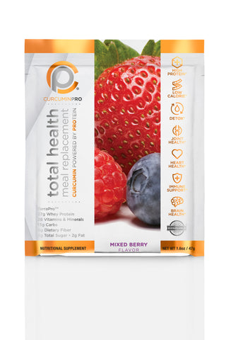 Total Health Meal Replacement Shake - Mixed Berry Pouches