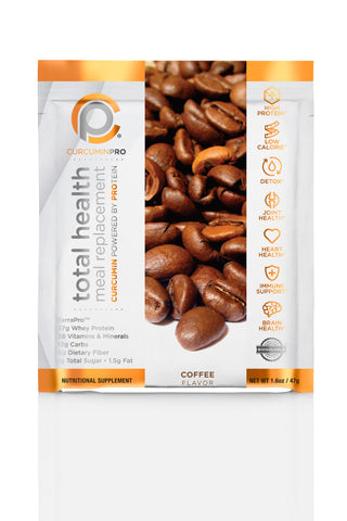 Total Health Meal Replacement Shake - Coffee Pouches - COMING SOON!