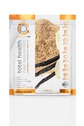 Total Health Meal Replacement Shake - Vanilla Pouches