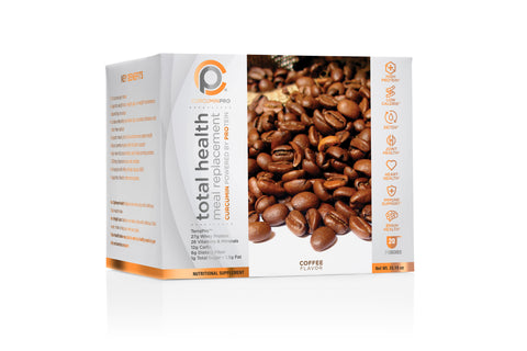 Total Health Meal Replacement Shake - Coffee Pouches